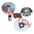 GY6 CVT Front Plate Assy of Drive